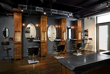 Barber salon design