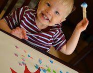 Toddler Crafts / by Hayley Ferber