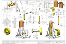 Steam Engine Plans and Drawings