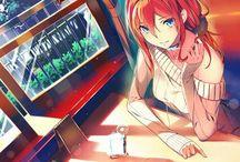 chicas anime
