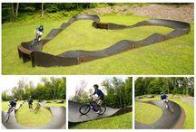 Garden Pump Track