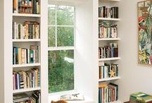 Bookshelves and Builtins / Bookshelves, built-in shelving