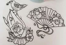 tattoo, drawings