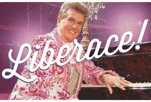 """""""Liberace!"""" - 2015 Season - October 28 - November 15, 2015 / Liberace! is a moving and highly entertaining tribute to the performer and musician famous for his charm, glitz, and glamour. Liberace relives the highs (and lows) of his prolific life, with a rollicking piano score spanning classical and popular music from Chopin to """"Chopsticks,"""" and Rachmaninoff to Ragtime.  Starring Daryl Wagner."""