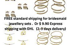 bridesmaid jewellery gifts
