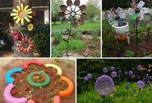Art garden teature