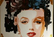 STRIKE A POSE paintings / oil paintings by Marco Sciarpa