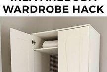 Home: closets/wardrobes