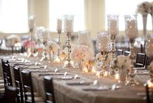 table centerpieces / by Catrina Hubbard