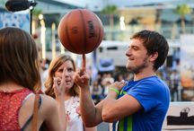 Josh Hutcherson Celebrity Basketball Game / Here are some highlights from the celebrity basketball game that kicked off the Nike 3ON3 Basketball Tournament Presented by NBC4!