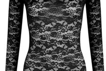 Je Te Veux Underwear as Outwerwear! / Underwear too beautiful to be hidden away underneath so wear it OUT!  Great looking pieces that can be under or outerwear...it's all in the detail x