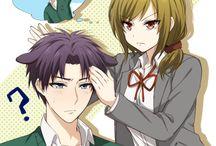 Gekkan Shoujo Nozaki-kun/ couples ♥