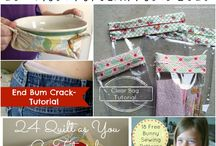 CRAFTS * PROJECT ROUND-UP'S / Projects from around the web-a-shere I would like to make or do / by Janice Maiolatesi