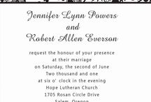 More invitations, designs n stuff / by Jessi Crossley