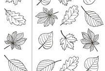 Podzimní - pracovní listy