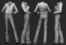sculpt clothes