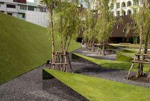 Exterior Landscape Inspiration / With an urban focus... How do you landscape your city?!