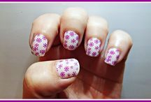Tierna de Masglo y The Artist Plate Collection 04 / Nail Art