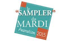 Sampler du mardi par QUILTMANIA - Tuesday Sampler by QUILTMANIA / Une nouvelle Animation gratuite pour vous,  chères fidèles quilteuses !!! Ce quilt Mystère sera constitué de 20 blocs traditionnels de 24 cm (10'') de côté. Ils vous seront présentés tous les 15 jours (un mardi sur 2) à partir du 13 janvier jusqu'à la fin du mois d'octobre 2015. http://www.quiltmania.com/magazine/rubriques/copie-de-sampler-du-mardi-2015.html