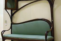Interieur antik, Art Nouveau...