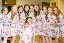 Floral Bridesmaid Robes