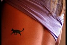 Cat tattoos for the crazy cat ladies