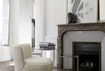 White elegant neutral / How to furnish a luxurious apartment