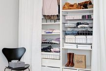 closets con cortinas