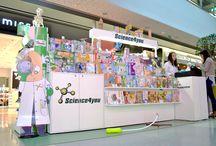 Onde nos pode encontrar / Pontos de venda onde poderá conhecer todos os brinquedos educativos e científicos da Science4you.