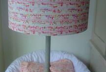 Evie Eccles Handmade Childrens Lampshades / Childrens  Handmade Bespoke Lampshades