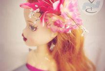 Mollie Tov Creations - Flower Facinators