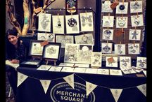 Craft Fairs / Out and about selling my wares.