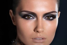 """Beautiful and """"some"""" funky makeup  / by Sandra A"""