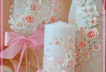 pahare decorate