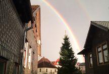 Landschaft / Herbstlich - Bilder beim Stadtbummel eingefangen in Sonneberg