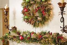 Decoracion de chimeneas para navidad