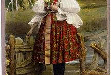 Национальные костюмы Чехии