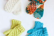 mittens and socks - käsineitä ja sukkia