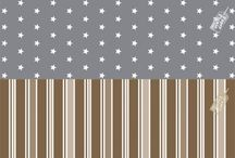 STARS AND STRIPES WRAPPING PAPERS