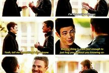 Barry Allen Oliver Queen