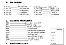 Evaluering - test tysk