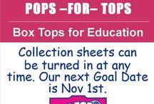 Box Tops / by Tiffany Martin