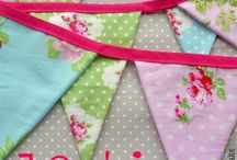 Bunting / Fantastic bunting to decorate the house