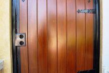 ворота, калитки, заборы