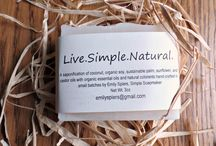 Live.Simple. / Cold-pressed soap hand-crafted in small batches by Emily, the Simple Soapmaker.