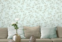 Shabby Chic Wallpaper & Interiors