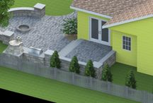 3D Designs / 3D Landscape Design and Outdoor living; including outdoor kitchens, outdoor patios and fire pits