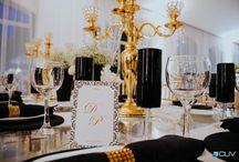 Decoração de Casamento com preto / Decoração de casamento na cor preta ou com detalhes na cor preta.
