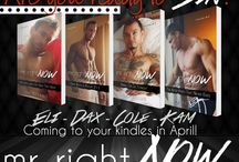 """Mr. Right Now / Four Brothers Dax Cole Eli Kam One chain of night clubs...""""Made To Sin"""" They've been to Tampa, New York, and Atlanta leaving behind their signature and very sexy nightclubs. It's time the boys bring their club to the West Coast. Their business life is intriguing, nightclub life is entertaining, but it's the after party in the hotel where the sin really begins.  Are you ready to party with the Made to Sin men? -This is a four-part erotic serial.-"""