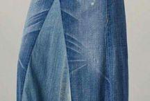 spijkerstof naaiwerk